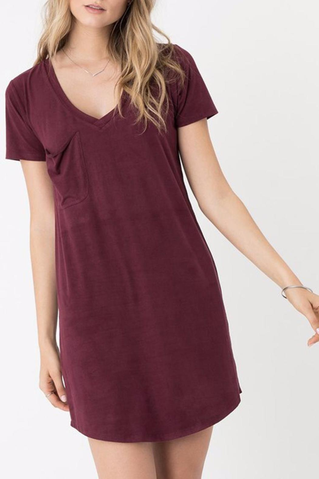 z supply Suede Dress - Front Cropped Image