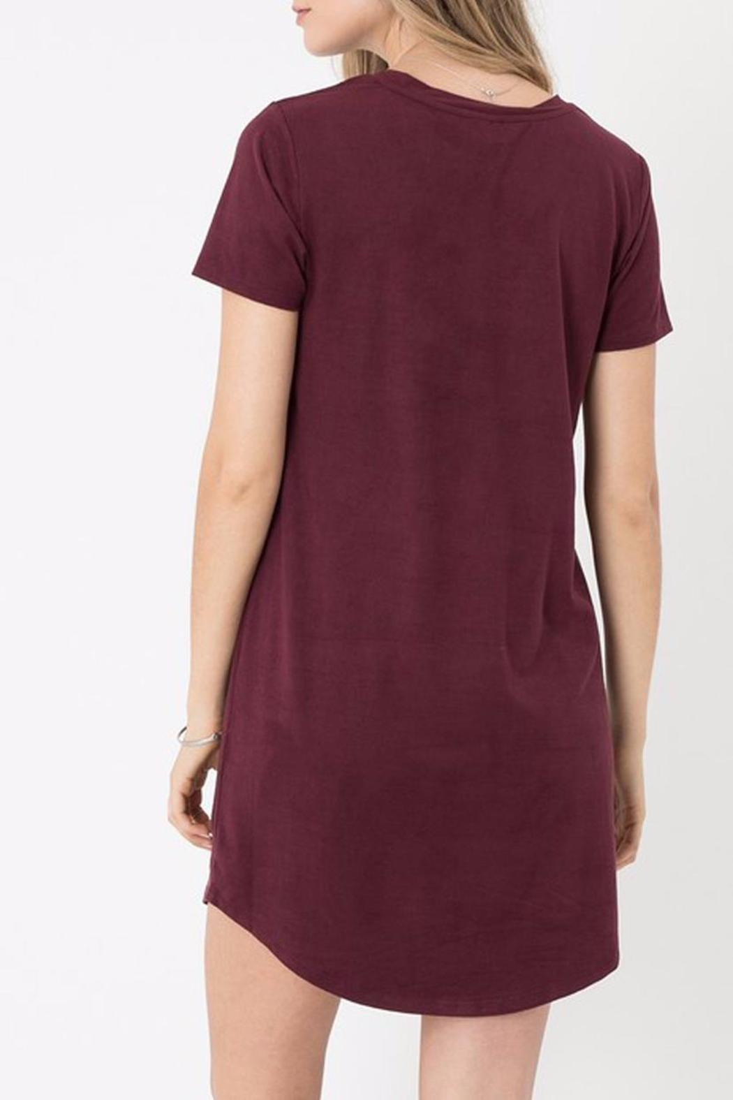 z supply Suede Dress - Side Cropped Image