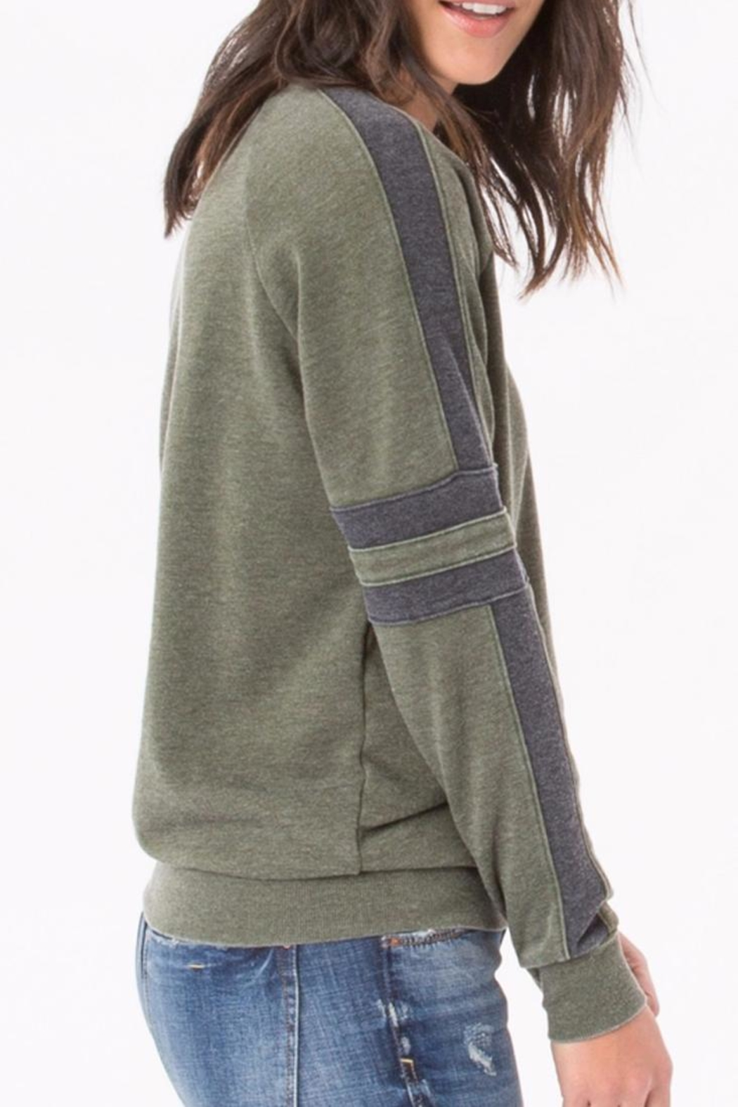 z supply The Track Pullover - Front Full Image