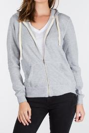 z supply The Zip Hoodie - Product Mini Image