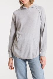 z supply Thermal Hooded Tunic - Front cropped