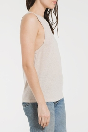 z supply Triblend Race Tank - Side cropped
