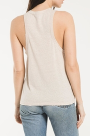 z supply Triblend Race Tank - Back cropped