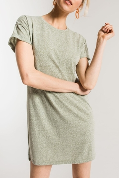 z supply Triblend T-Shirt Dress - Alternate List Image