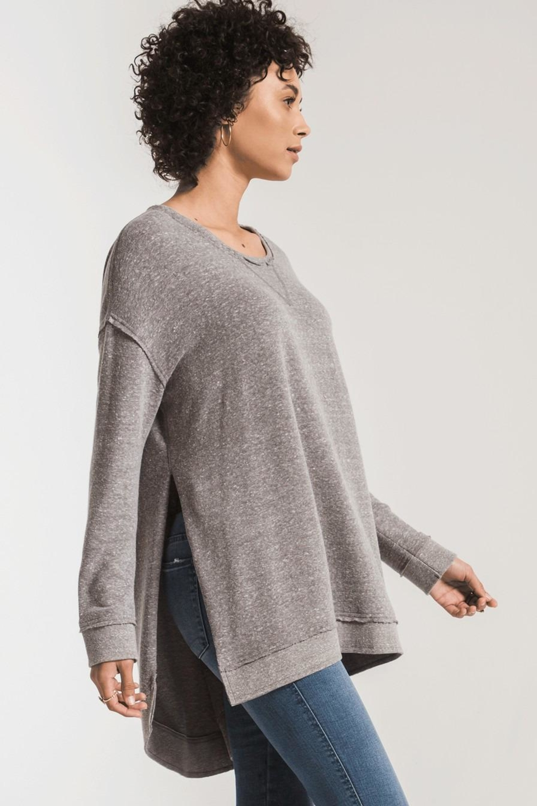 z supply Triblend Vacay Top - Front Full Image