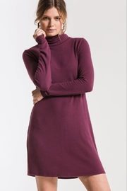z supply Turtleneck Sweater Dress - Front cropped