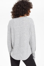 z supply Vada Marled Top - Back cropped