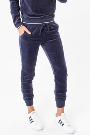 z supply Velour Joggers - Product Mini Image