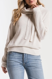 z supply Waffle Thermal Top - Front cropped