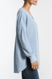 z supply Waffle Thermal Tunic - Front full body
