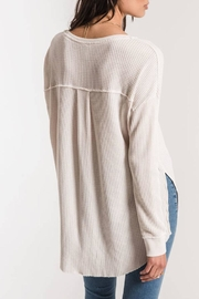 z supply Waffle Thermal Tunic - Side cropped