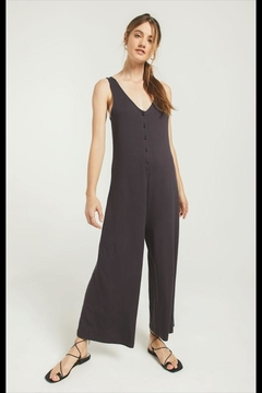 Z Supply  Washed Black Jumpsuit - Product List Image