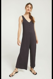 Z Supply  Washed Black Jumpsuit - Product Mini Image