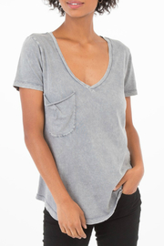 z supply Washed Pocket Tee - Front cropped