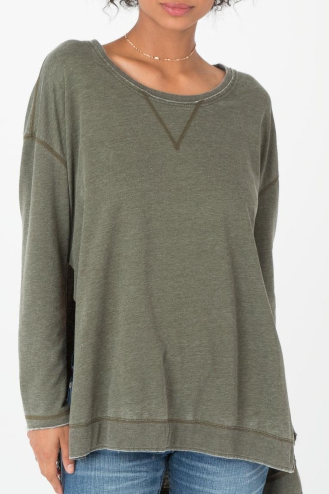 z supply Weekender Sweatshirt - Front Cropped Image