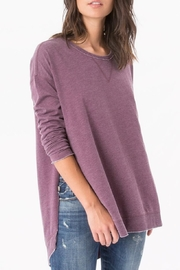 z supply Weekender Sweatshirt - Back cropped