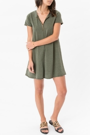 z supply Zip Swing Dress - Back cropped
