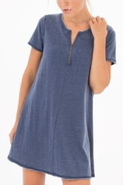 z supply Zip-Up Tempo Dress - Product Mini Image