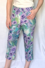 Zac & Rachel Printed Cropped Pant - Product Mini Image