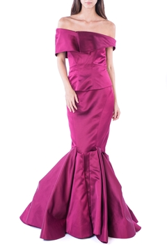 Shoptiques Product: Raspberry Flawless Gown