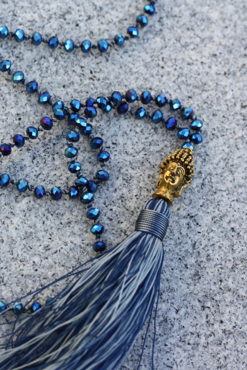 Zacasha Budda-Beaded Necklace - Main Image