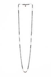Zacasha Hematite/pearl Layering Necklace - Product Mini Image