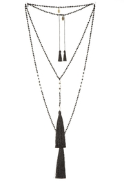 Zacasha Tassel Necklace Set - Product Mini Image