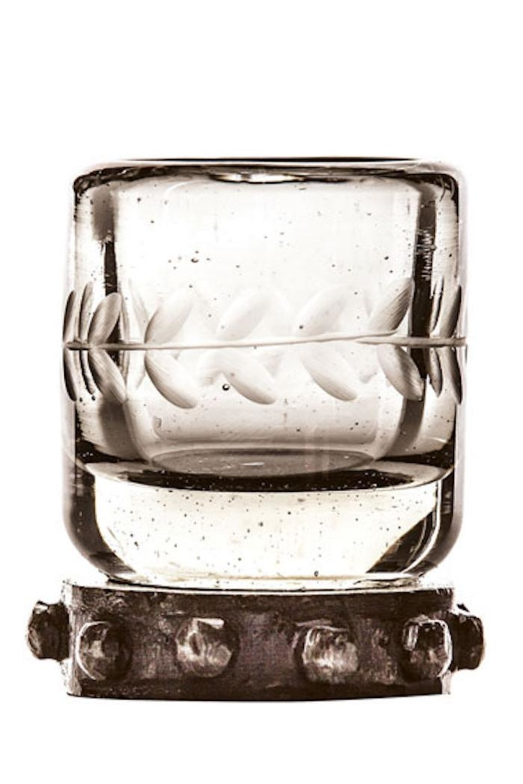 Jan Barboglio Zachshot Glass, Clear - Front Cropped Image