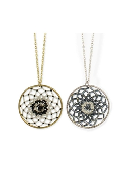 ZAD Beaded Dreamcatcher  Necklace - Product List Image