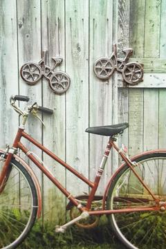 Shoptiques Product: Bicycle Earrings