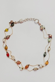 ZAD Glass-Mosaic Beaded Anklet - Product Mini Image