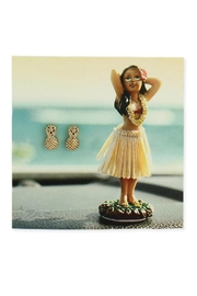 ZAD Gold Pineapple Post-Earring - Product Mini Image