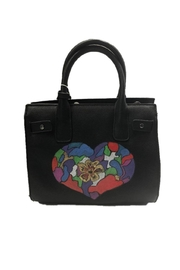 Urban Expressions Zadie Satchel With Hand Painted Heart - Product Mini Image