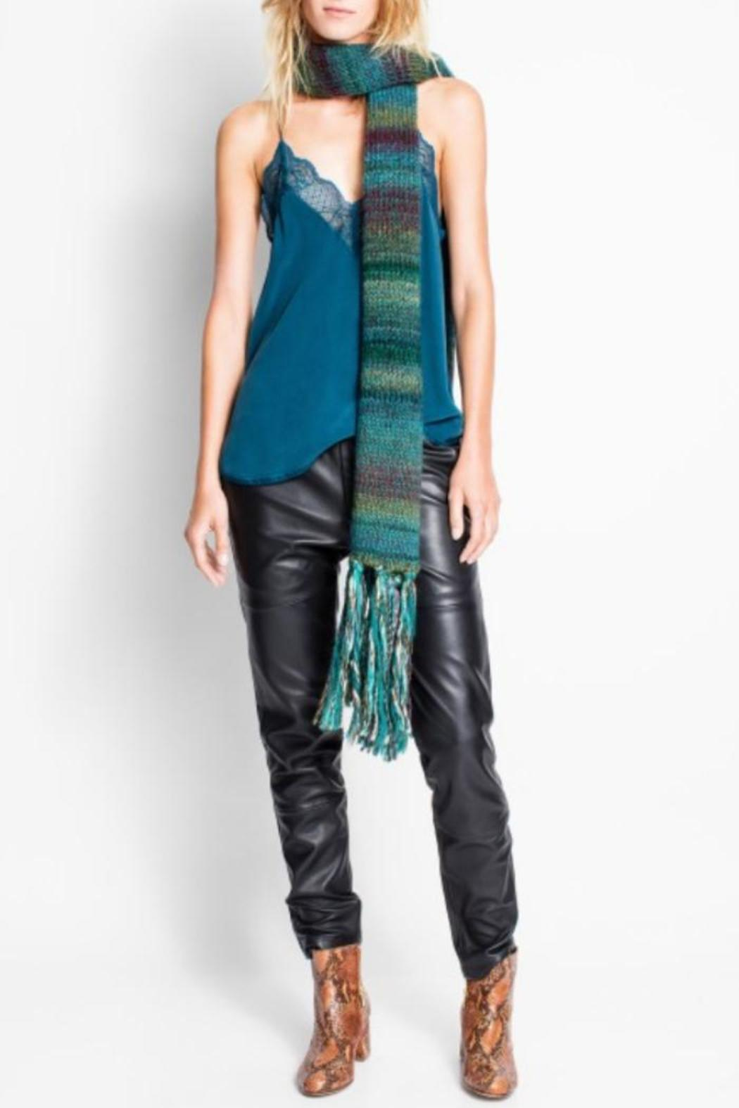 Zadig & Voltaire Christy Silk Camisole - Front Full Image