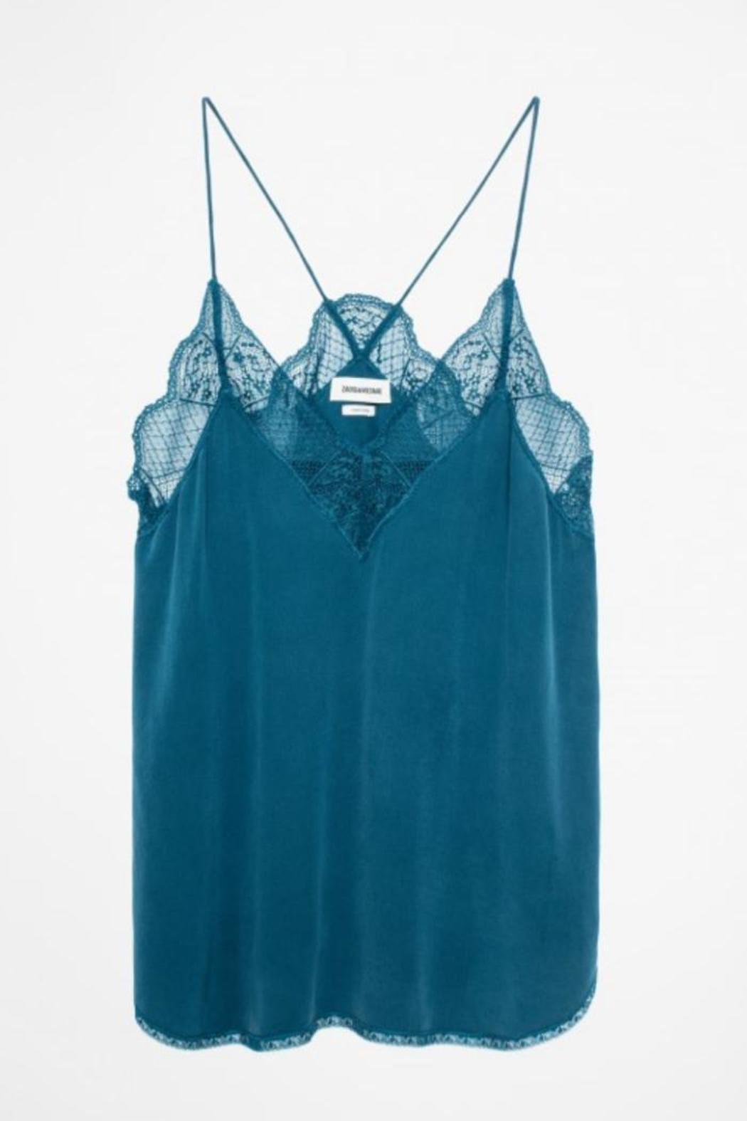 Zadig & Voltaire Christy Silk Camisole - Main Image