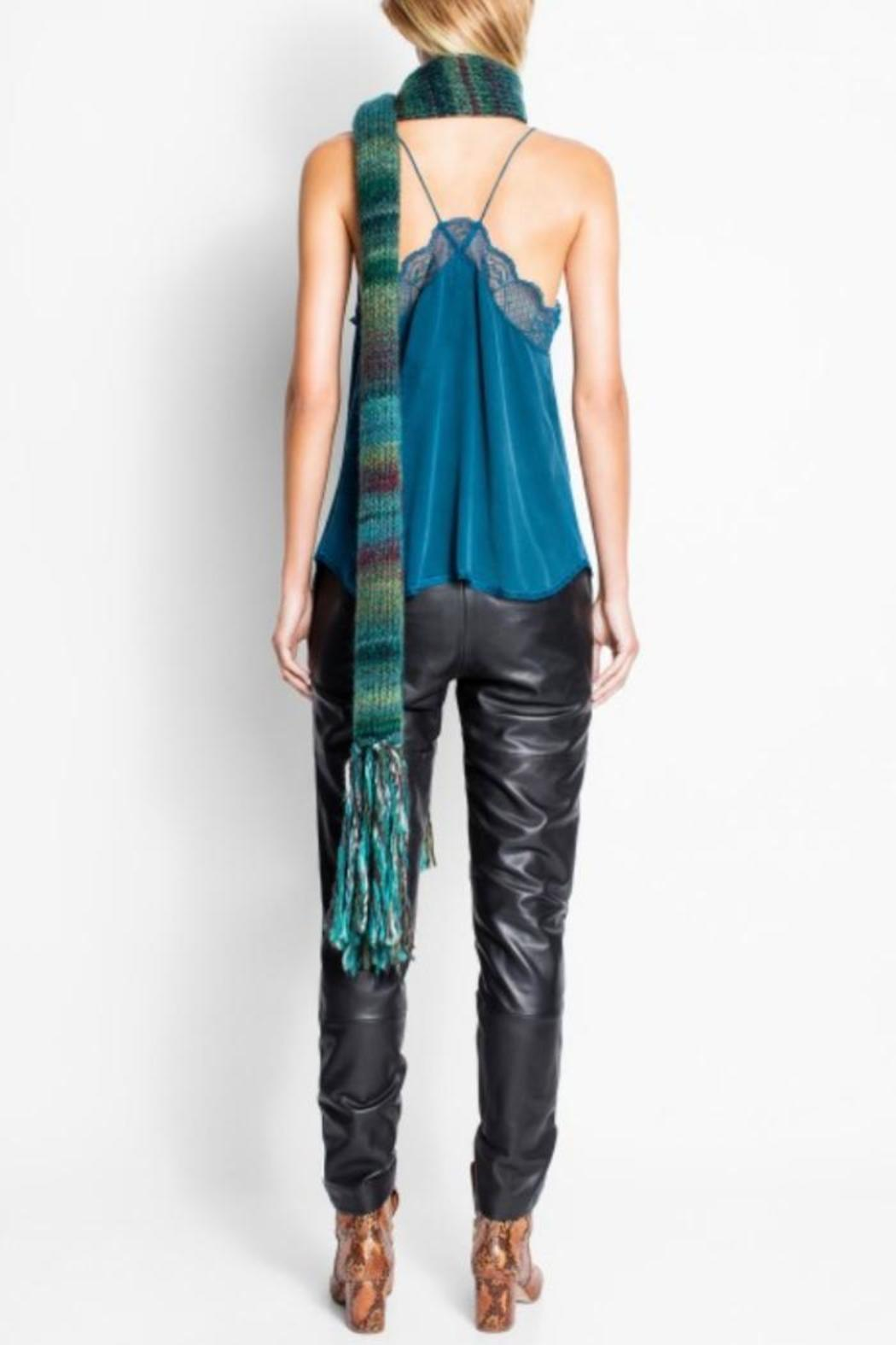 Zadig & Voltaire Christy Silk Camisole - Side Cropped Image