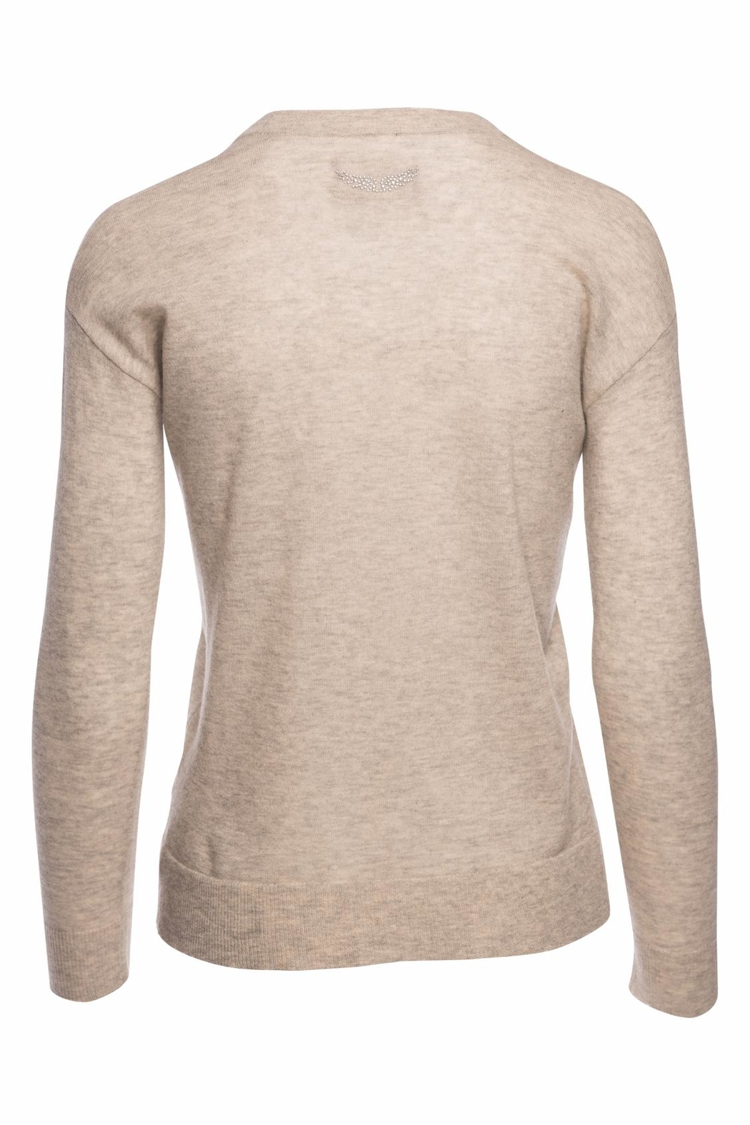Zadig & Voltaire Happy Cashmere Sweater - Front Full Image
