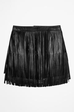 Zadig & Voltaire Jaliz Leather Skirt - Alternate List Image