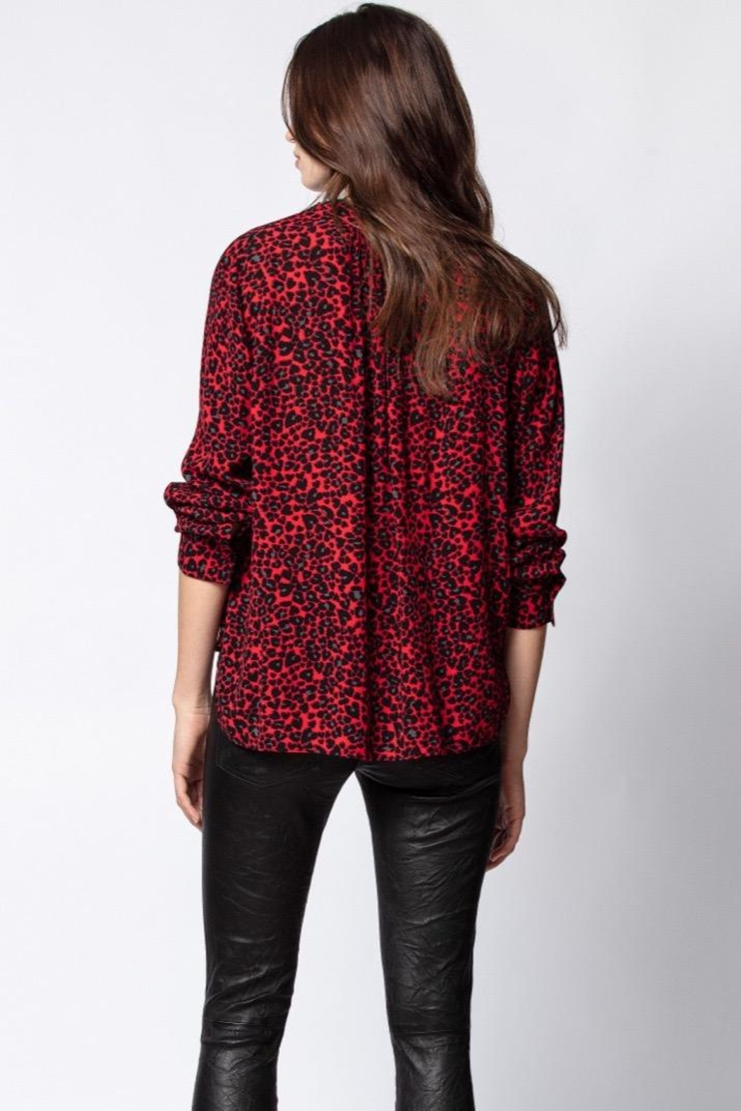 Zadig & Voltaire Long Sleeve Tunic - Front Full Image