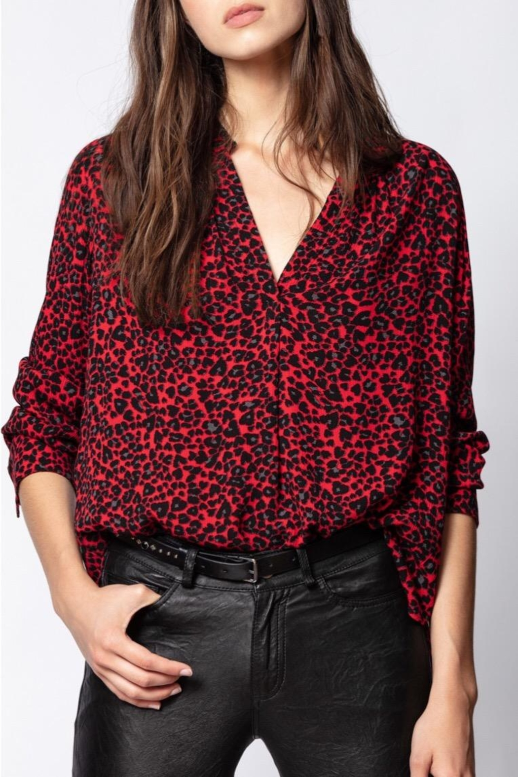Zadig & Voltaire Long Sleeve Tunic - Main Image