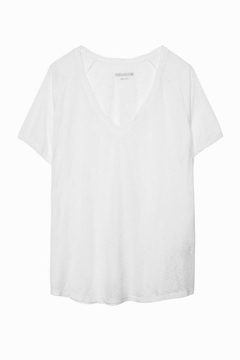 Zadig & Voltaire Margot Burn Tee - Alternate List Image