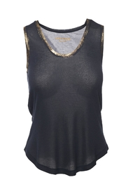 Zadig & Voltaire Tam Gold Spi Top - Product Mini Image