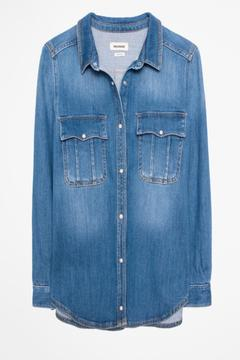 Zadig & Voltaire Taro Denim Shirt - Alternate List Image