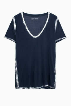 Zadig & Voltaire Tino Foil T Shirt - Alternate List Image