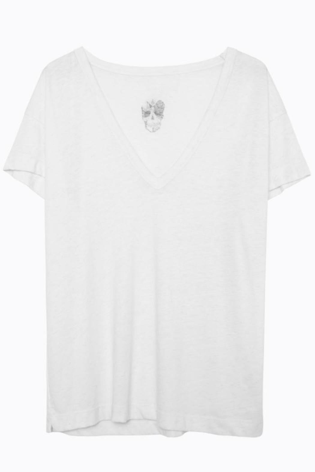 Zadig & Voltaire Wass Burn Tee - Front Cropped Image