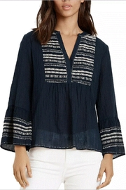 Velvet Zaley Peasant Top - Front cropped
