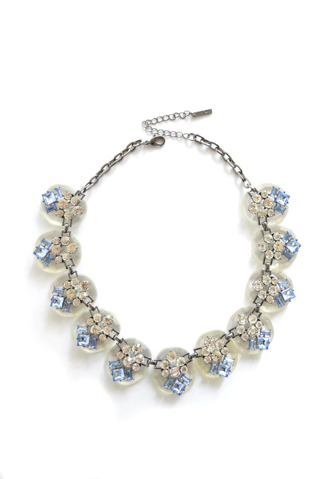 Zana West Blue Crystals Necklace - Main Image