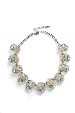 Zana West Blue Crystals Necklace - Product List Image