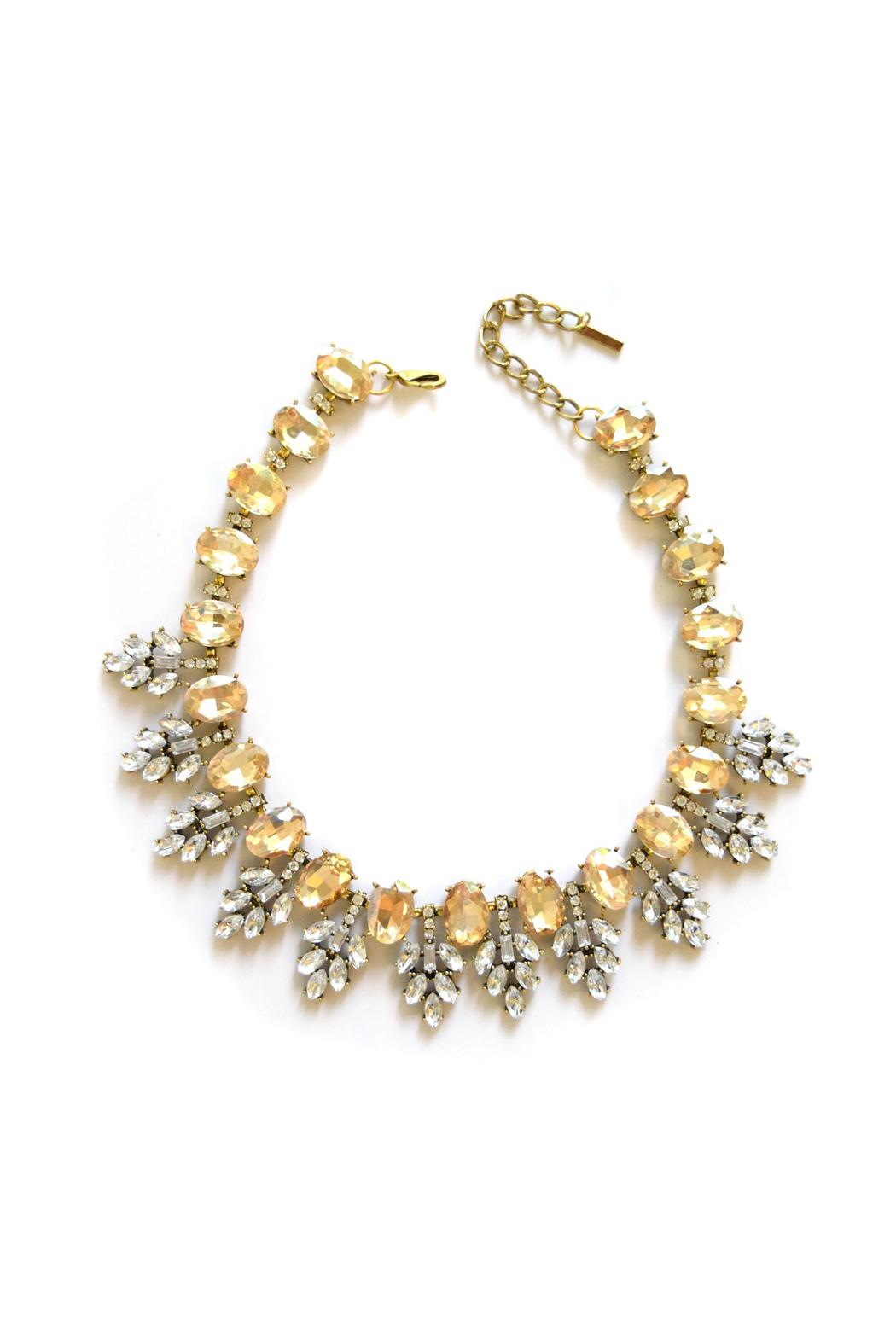 Zana West Crystal Collar Necklace - Main Image
