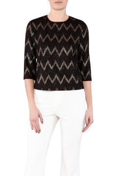 Zanzi Chevron Crop Top - Product List Image